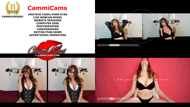 cammicams cammiversary webcam model amateur video porn star